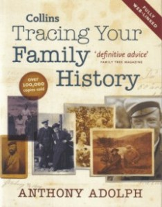 Tracing Your Family History by Anthony Adolph