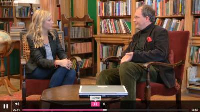 TV presenter Lisa Faulkner. Genealogist Anthony Adolph. Heir Hunters BBC2