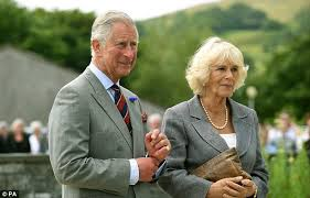 The Duke and Duchess of Cornwall visiting Cornwall