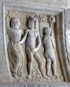 Adam and Eve, who are found at the top of many western family trees. But why?