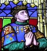 Richard, Duke of York, from a stained glass window in Ludlow