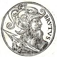 Brutus of Troy, the mythological founder of Britain