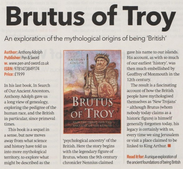 Brutus review You Family History March 2016 001